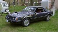 1984 MGL Mustang Convertible - 168,000kms