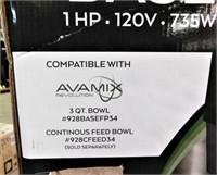AVAMIX Food Processing System-NEW