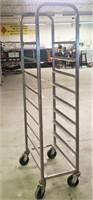 Half Size Sheet Pan Cart-9 Pan Capacity