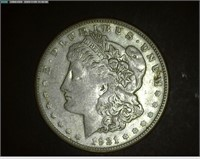 Morgan, Peace & Commemorative Silver Dollars & Certificates