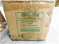 Dozen-10 oz Oval Baking Dish-NEW