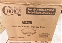 Case of 3.5 oz Fruit Bowl-NEW-36/Case