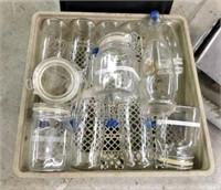 (12) Assorted Glass Jars