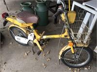 Honda express, 1978 model moped