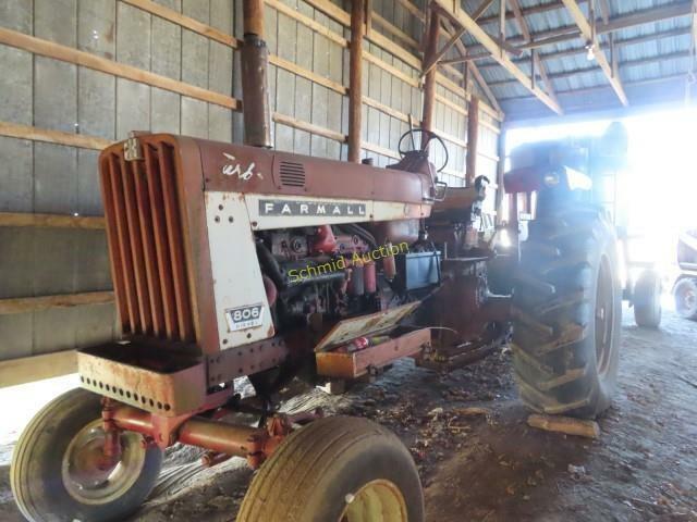 1967 Farmall 806 Turbo diesel tractor, wf serial