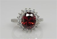 3.3 ct Ruby Ring
