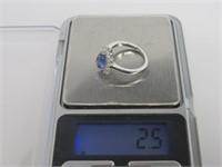 3.31 ct Tanzanite Designer Ring