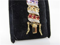9.57 ct Assorted Gems Bracelet
