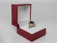 4 ct Garnet Ring