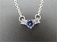 Blue Iolite Designer Necklace
