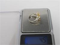 2.13 ct Citrine Ring