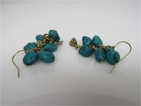Turquoise Fashion Dangle Earrings