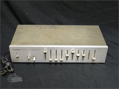 Technics Stereo Frequency Equalizer Sh 8010 Other Items For Sale In Kentucky 1 Listings Machinerytrader Com Page 1 Of 1