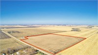 158 Acres m/l in Dickinson County, Iowa Selling in 2 Tracts