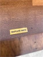 MAITLAND SMITH BRASS & IRON CANTERBURY