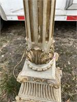 RAM'S HEAD HIGH END DECORATOR FLOOR LAMP