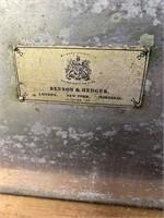 BENSON AND HEDGES, MAHOGANY INLAID HUMIDOR