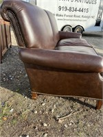 BROWN LEATHER SOFA JULES RIST SOFA