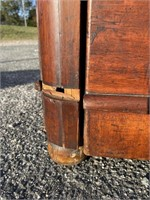19TH CENTURY 2 OVER 3 DRAWER EMPIRE CHEST