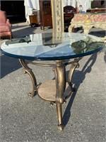 MAITLAND SMITH  DESIGNER FRENCH ROUND TABLE