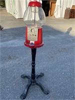 GUMBAll MACHINE ON IRON STAND