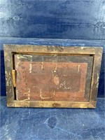 ANTIQUE LATE 1800'S OIL ON BOARD PAINTING