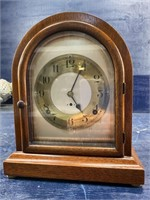 ANTIQUE RUNNING SETH THOMAS BEEHIVE MANTLE CLOCK