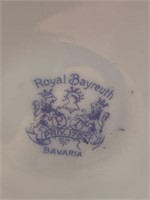 ANTIQUE ROYAL BAYREUTH TAVERN MUSICIANS CANDLE