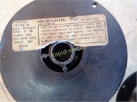 Five Aluminum & Two Steel Mig Wire