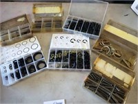 Seven Packages of Specialty Shop Clips & Pins