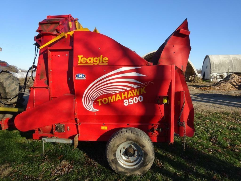2014 Teagle Tomahawk 8500 Bale Processor