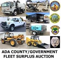 Ada County Surplus / Fleet Equipment 12/3/20 6pm