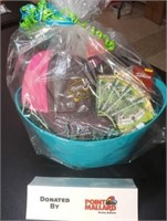 Gift Basket With 4 One-time Green Fee Passes
