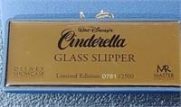 Disney Showcase Cinderella's Glass Slipper