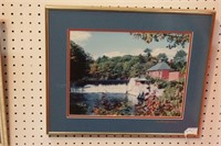 "Garside ""october day"", Antique mill pond 6 Pc"