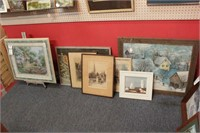 Reginald Green, Straussberry & prints - 7pcs