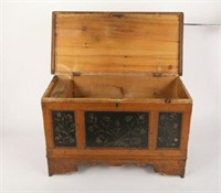 Wilno Blanket Chest, Ontario, Late 19th Century
