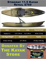 Stingray 11.5 Kayak Donated By The Kayak Store