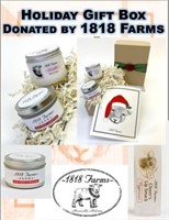 Holiday Gift Box Donated By 1818 Farms