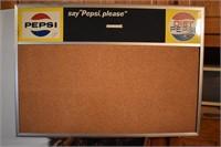 Rare Pepsi Menue Board