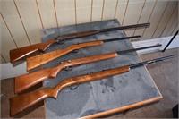 Long Guns Remington, Winchester, etc