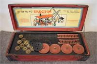 NOo. 7 Erector Set Wooden Box