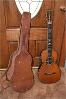 Old Guitar & Case