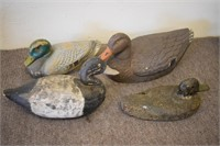 Collection Old Duck Decoys