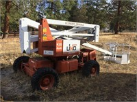 SNORKELIFT UNO 41G ARTICULATING BOOM LIFT, AWD GAS