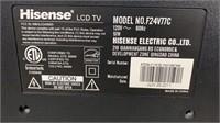 "24"" Hisense Tv Untested"
