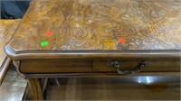 Gordan's Glass Insert Coffee Table, 2 End T