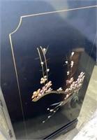 Black Asian Cabinet 30x13x30