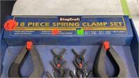 King Craft 18 Pc. Spring Clamp Set