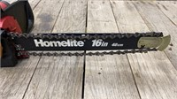 Electric Homelight 16 In. Chainsaw